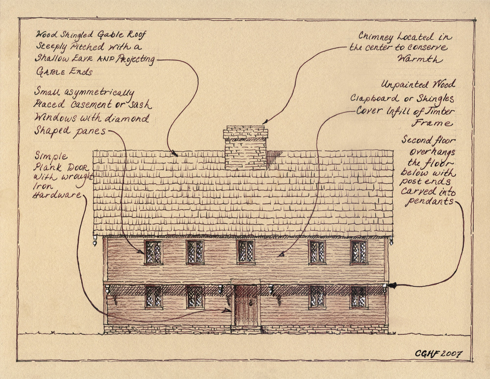 English Colonial Domestic Architecture Of New England