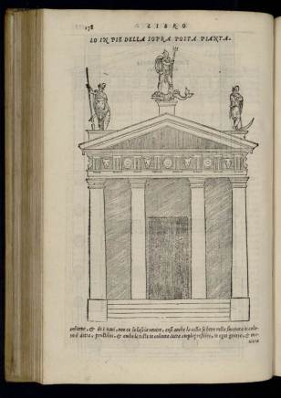 The Doric Order illustrated in De Architectura, trans. Barbaro, 1567 edition