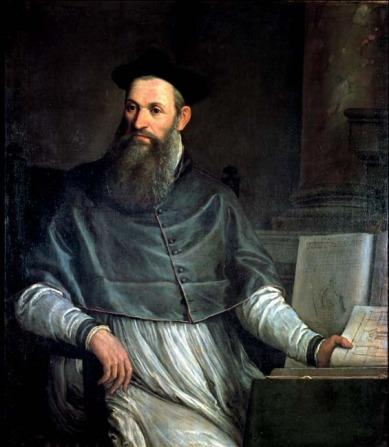 Daniele Barbaro by Veronese