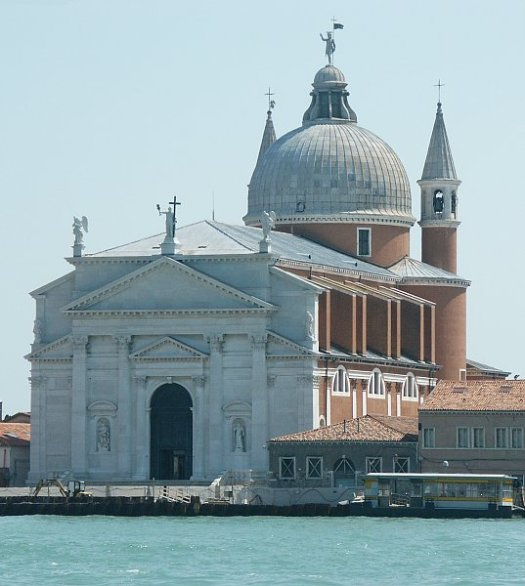 Il Redentore (1577-92) in Venice, Italy designed by Andrea Palladio