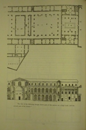 """The following building is the Convent of the Carità belonging to the regular canons in Venice. I endeavored to make this house like those of the ancients and so I built there a Corinthian atrium, which is as long as the diagonal of the square of its breadth."" Palladio, QL Book II, Chapter VI"