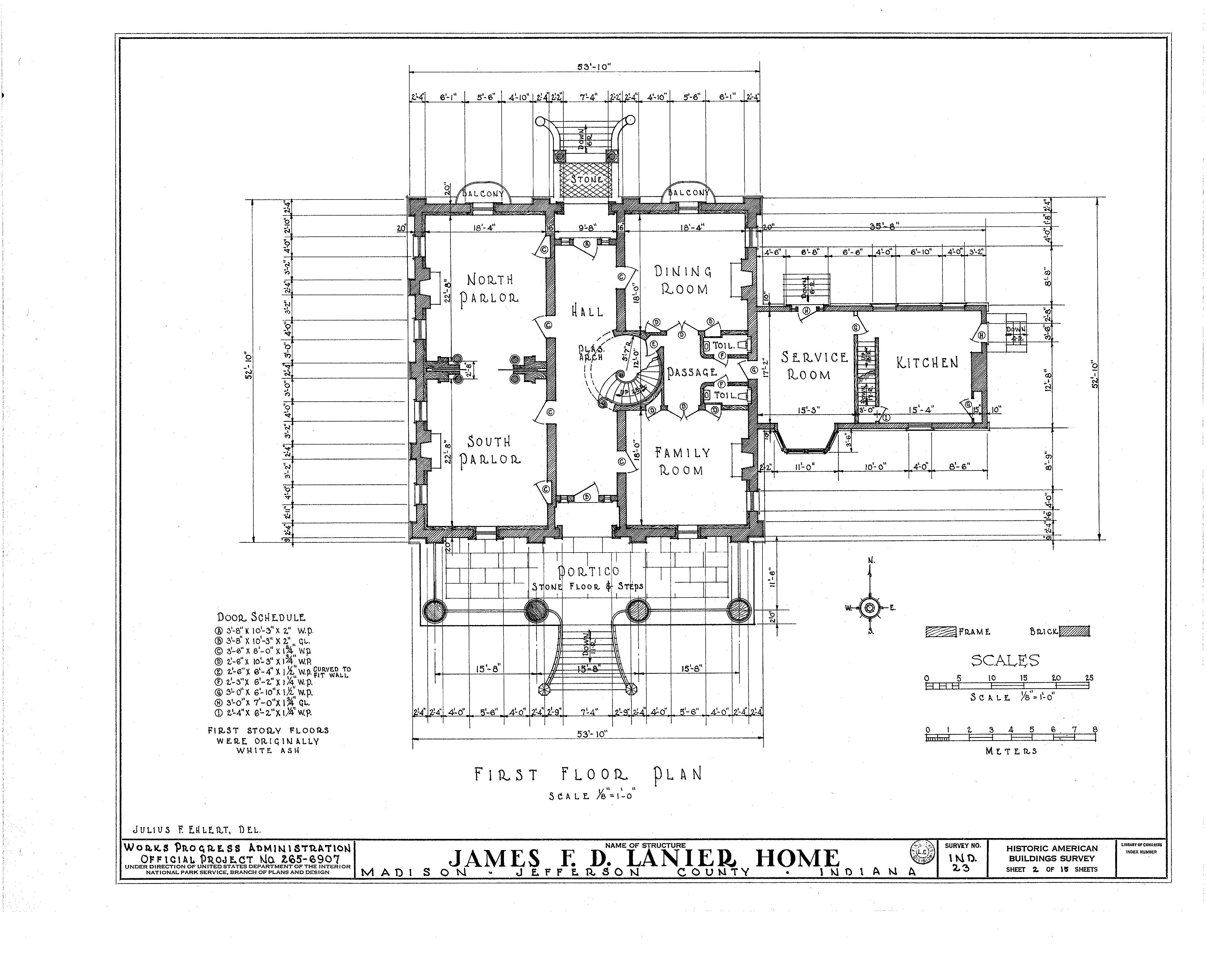 Historic Bungalow House Plans