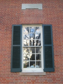 Homewood, a Federal-era house near Baltimore, has delicately proportioned windows