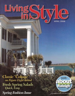 """""""Grand Proportions,"""" Living in Style (April 2008): 28-38 and cover"""