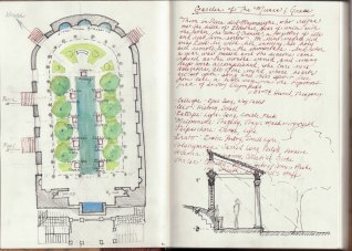 Thoughts on the design of a peristyle and garden.
