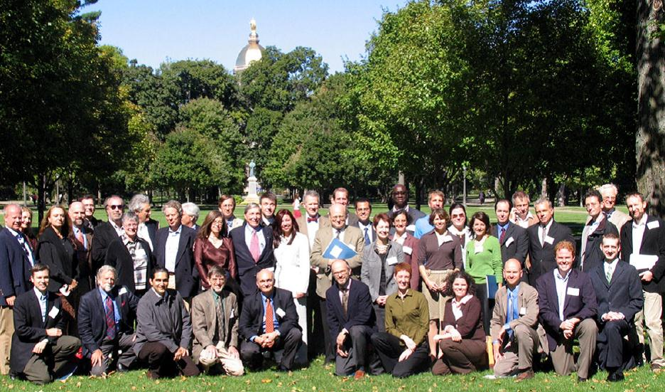 Three Generations of Classical Architects conference speakers, panelists, and attendees, University of Notre Dame (2005)