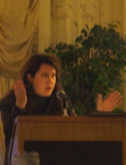 Christine G. H. Franck delivers summary comments at the Institute of Classical Architecture's 10th Anniversary celebrations.