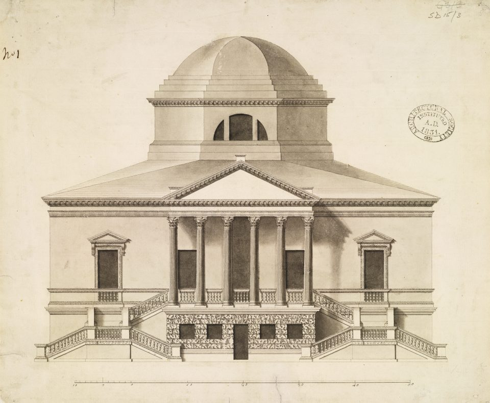 Chiswick House by Lord Burlington, 1729 (c) RIBA Collections